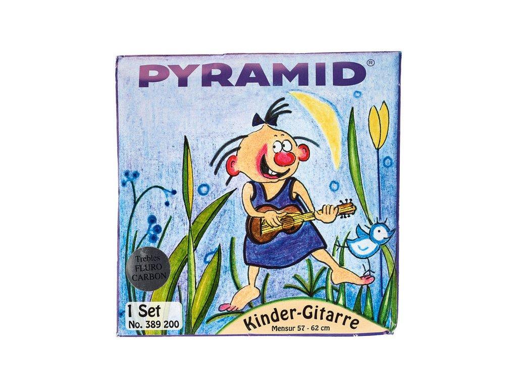 Struny na kytaru - Pyramid Nylon 3/4