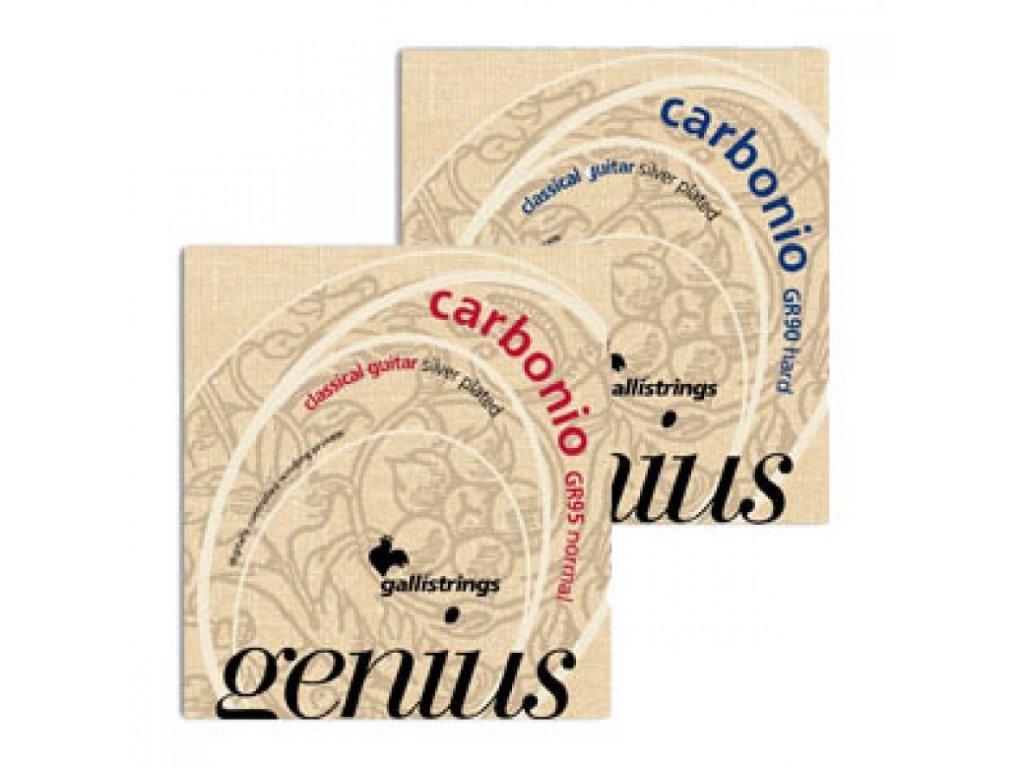 Nylonová kusová struna D ze sady Genius Carbonio GR65 GR95