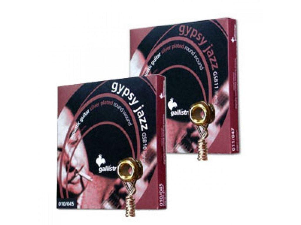 Struna kusová na akustickou kytaru Galli Gypsy Jazz GPB 014