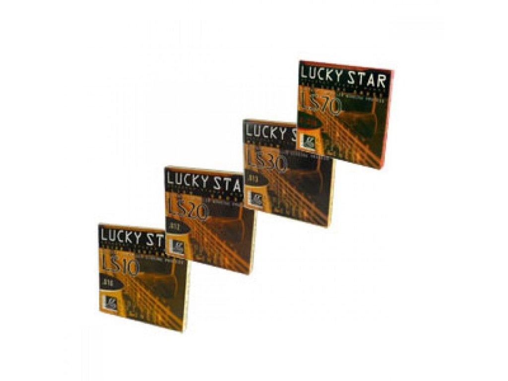 Struna kusová na akustickou kytaru Galli Lucky Star 010