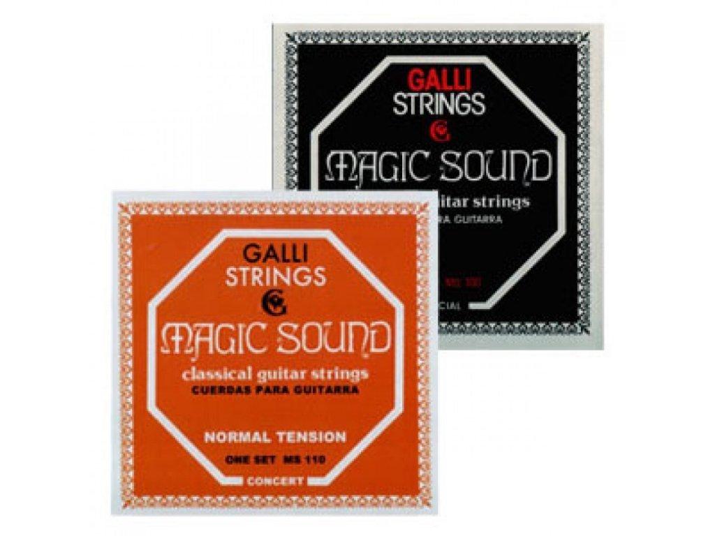 Nylonová kusová struna Galli Magic Sound E6