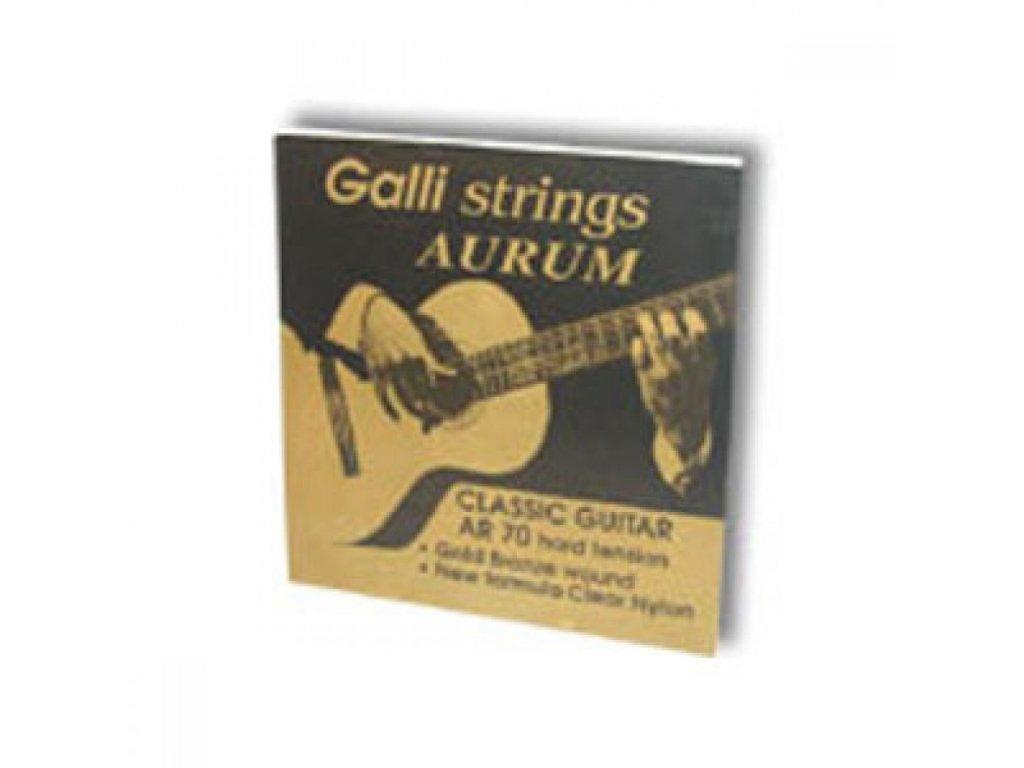 Nylonové struny Galli Aurum AR 70