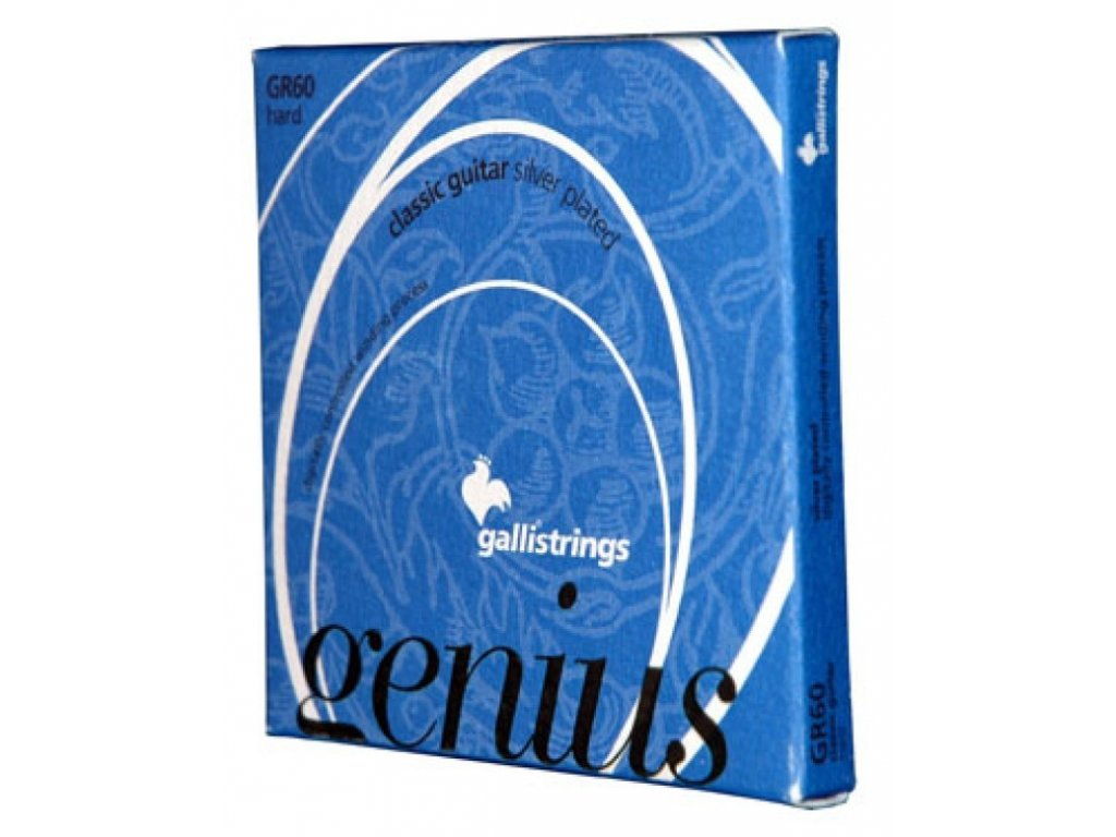 Nylonové struny Galli Genius GR 60 C
