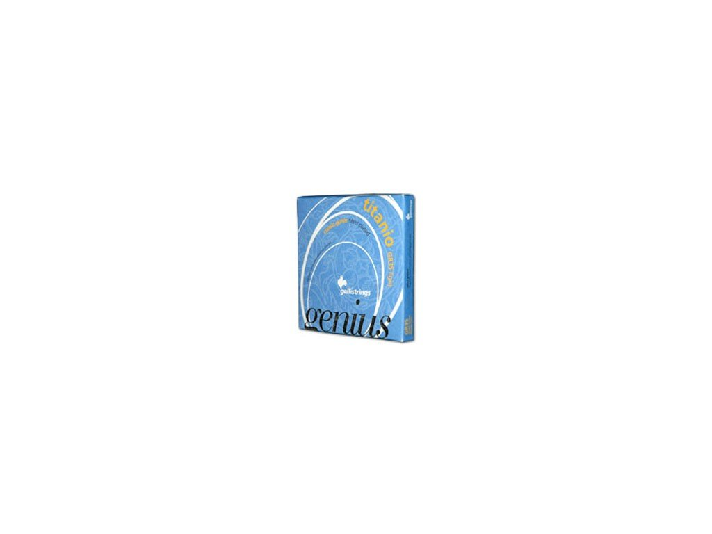 Nylonové struny Galli Genius Titanio GR 35