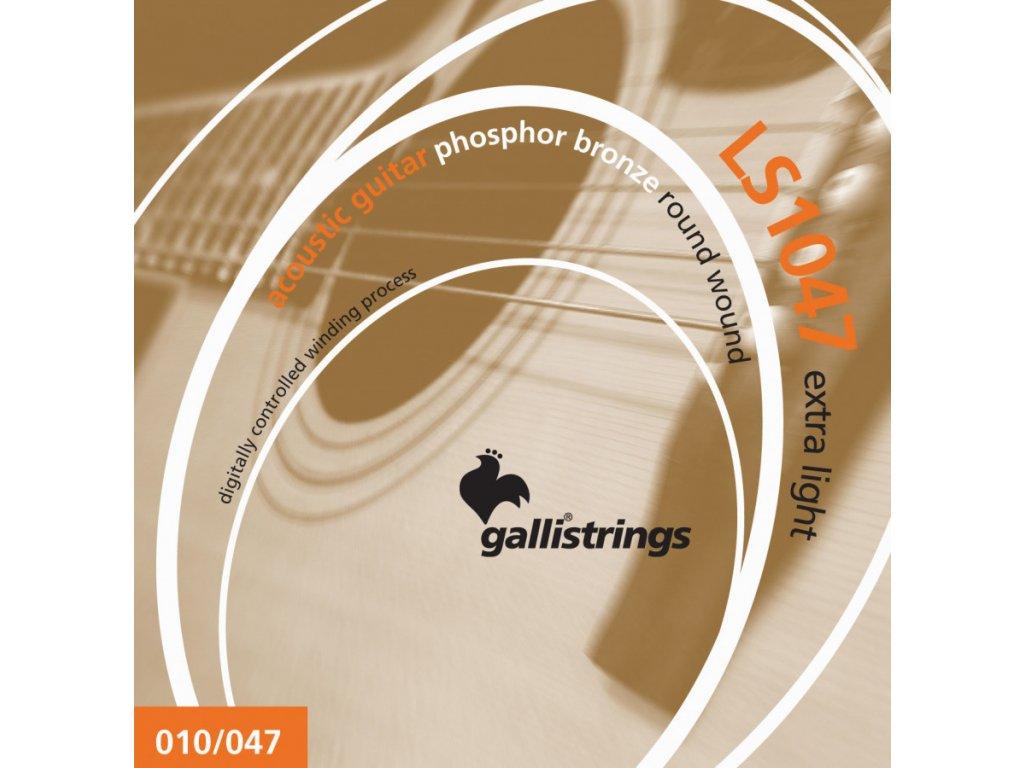 Struny na akustickou kytaru Galli Lucky Star LS1047