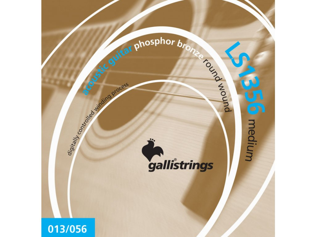 Struny na akustickou kytaru Galli Lucky Star LS1356