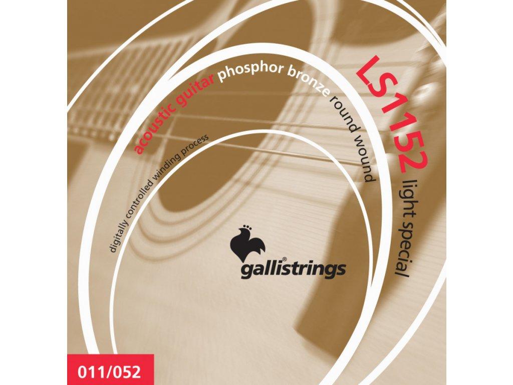 Struny na akustickou kytaru Galli Lucky Star LS1152
