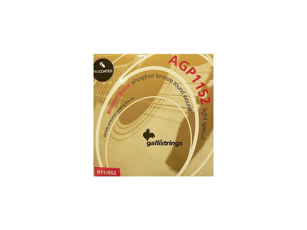 Struny na akustickou kytaru Galli PROcoated Acoustic AGP1152