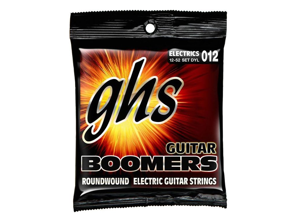 Struny na elektrickou kytaru GHS Boomers DYL