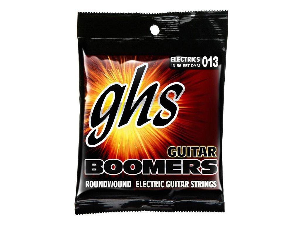 Struny na elektrickou kytaru GHS Boomers DYM