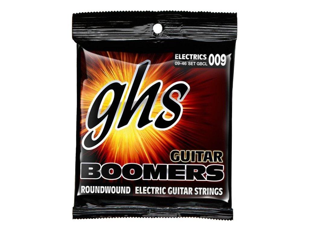 Struny na elektrickou kytaru GHS Boomers GBCL