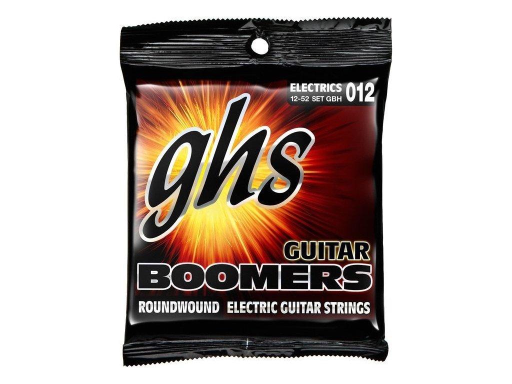 Struny na elektrickou kytaru GHS Boomers GBH