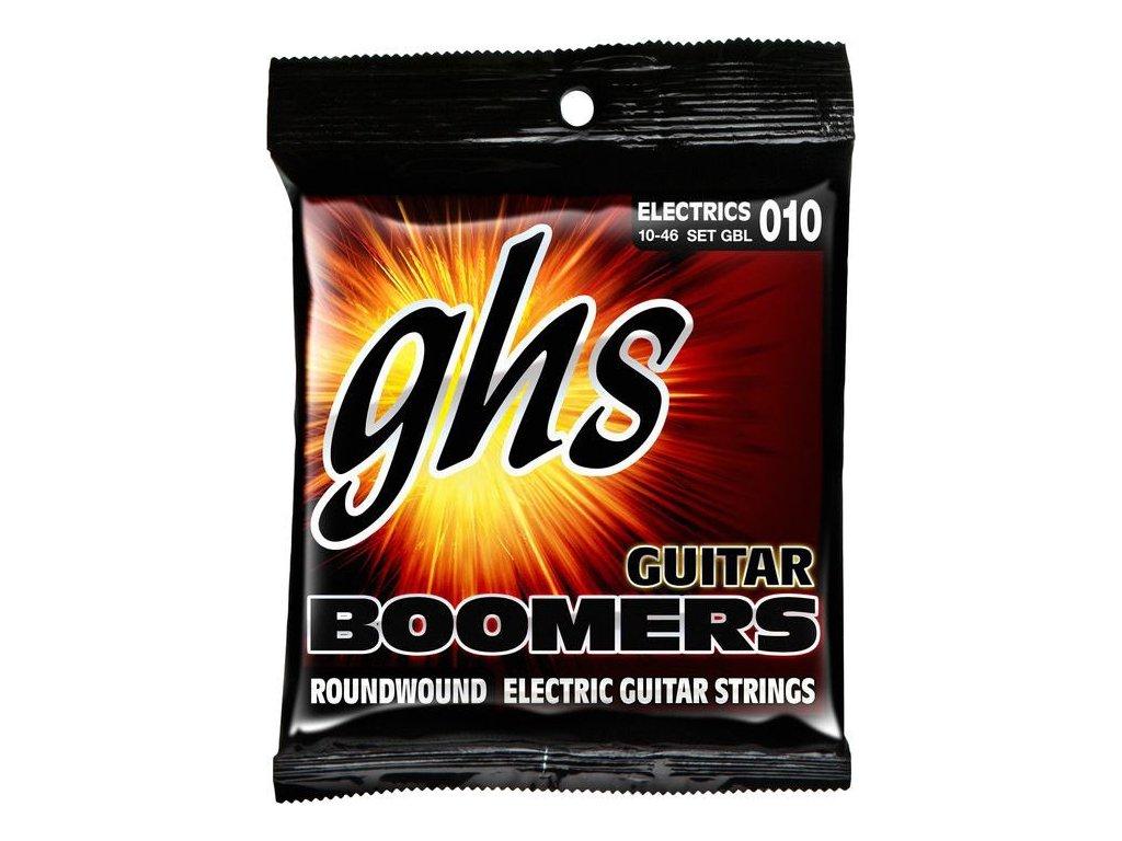 Struny na elektrickou kytaru GHS Boomers GBL