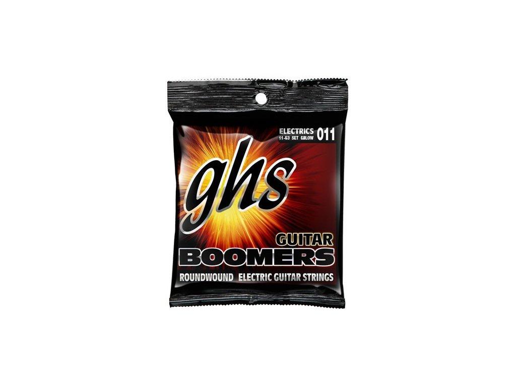 Struny na elektrickou kytaru GHS Boomers GBLOW
