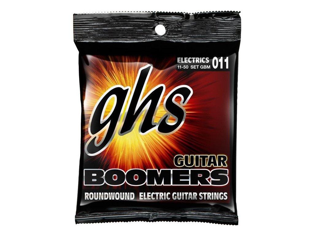 Struny na elektrickou kytaru GHS Boomers GBM