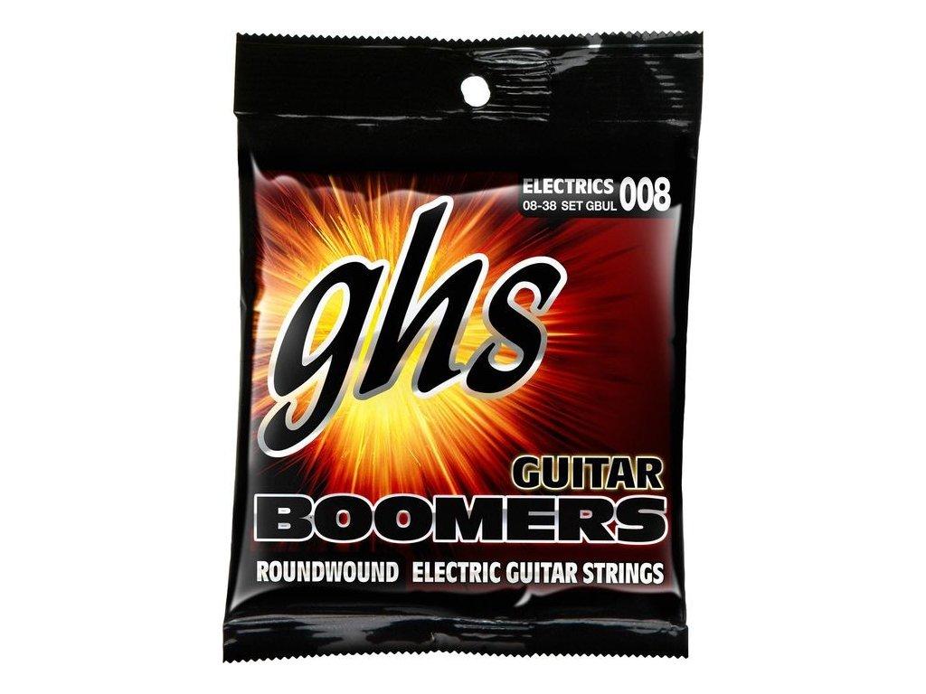 Struny na elektrickou kytaru GHS Boomers GBUL