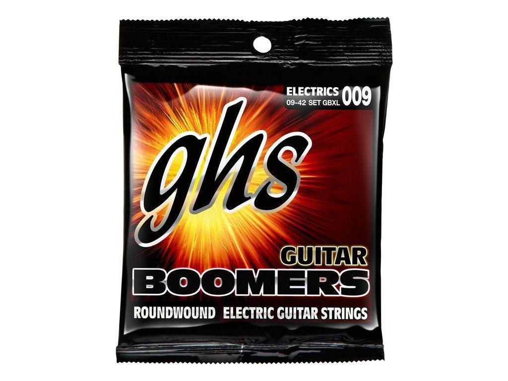 Struny na elektrickou kytaru GHS Boomers GBXL