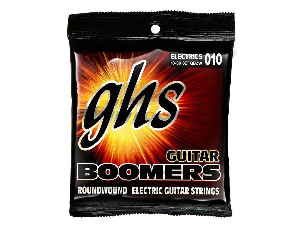 Struny na elektrickou kytaru GHS Boomers GBZW