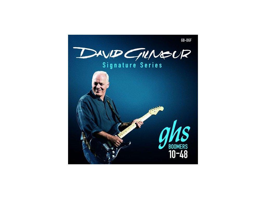 Struny na elektrickou kytaru GHS David Gilmour GB-DGF