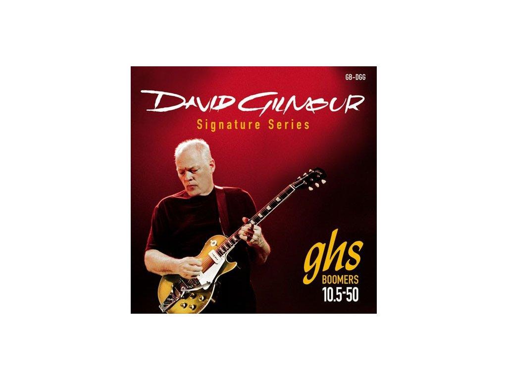 Struny na elektrickou kytaru GHS David Gilmour GBDGG