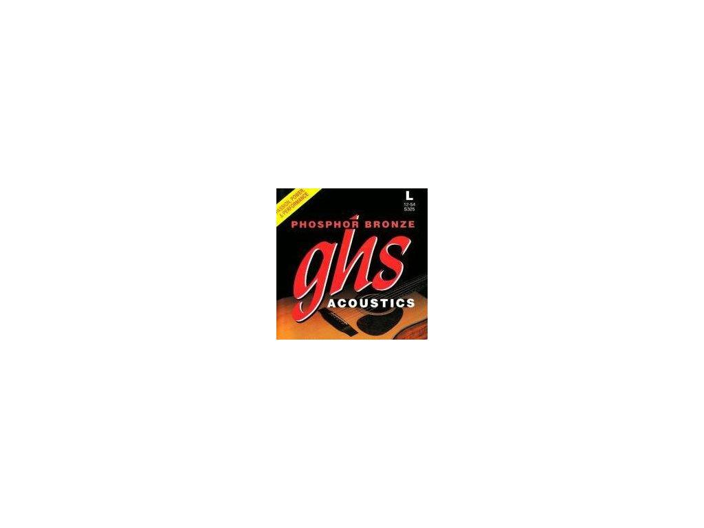 Struny na akustickou kytaru GHS S325