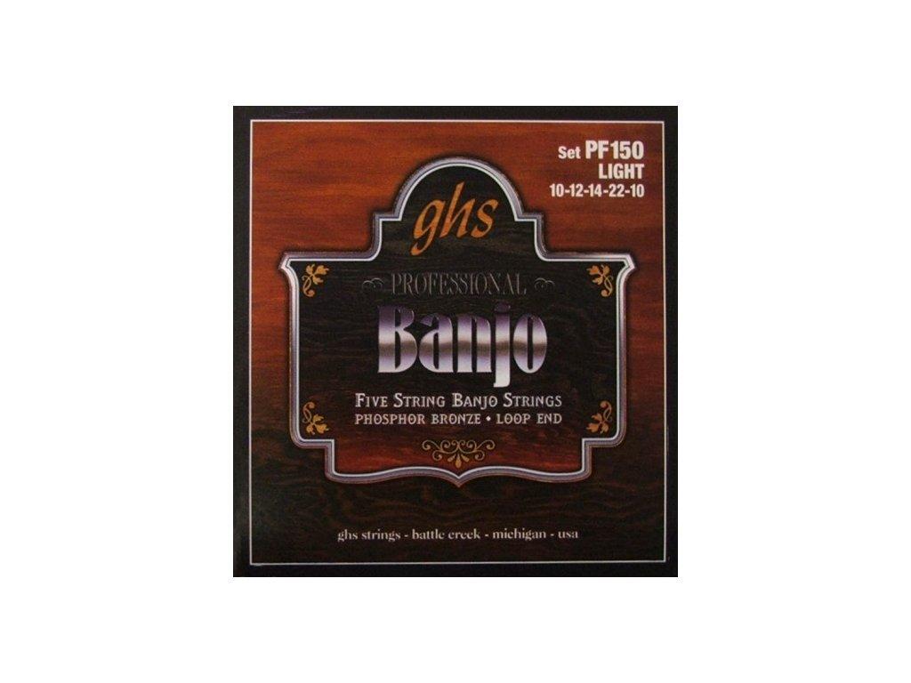 Struny na banjo GHS PF 150