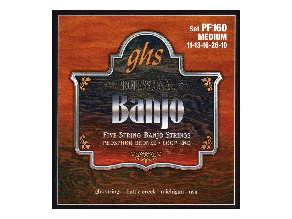 Struny na banjo GHS PF 160