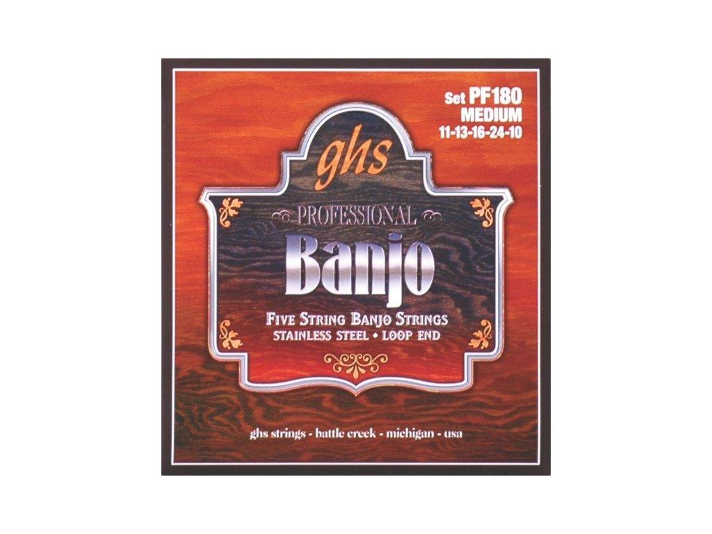 Struny na banjo GHS PF 180