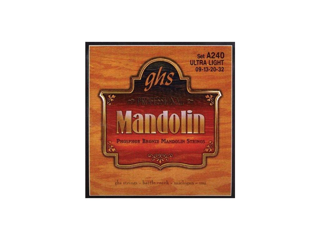 Struny na mandolínu GHS A240