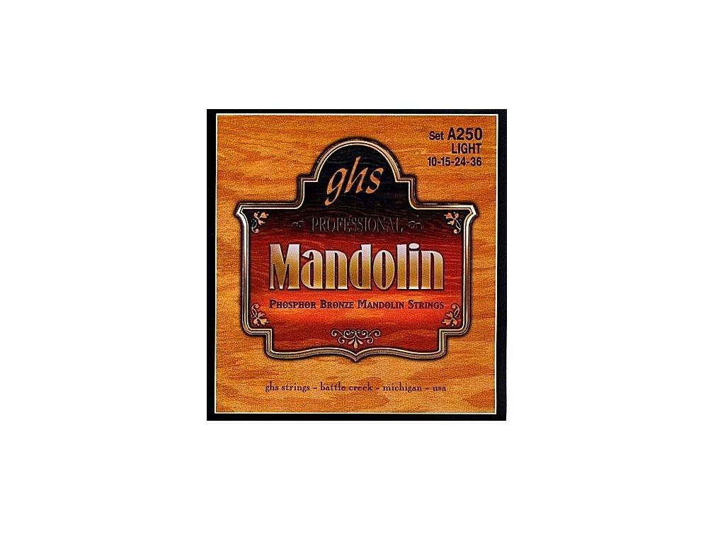 Struny na mandolínu GHS A250