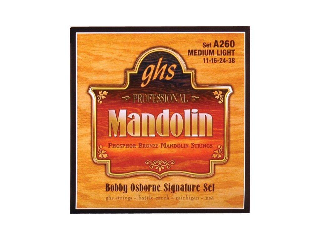 Struny na mandolínu GHS A260