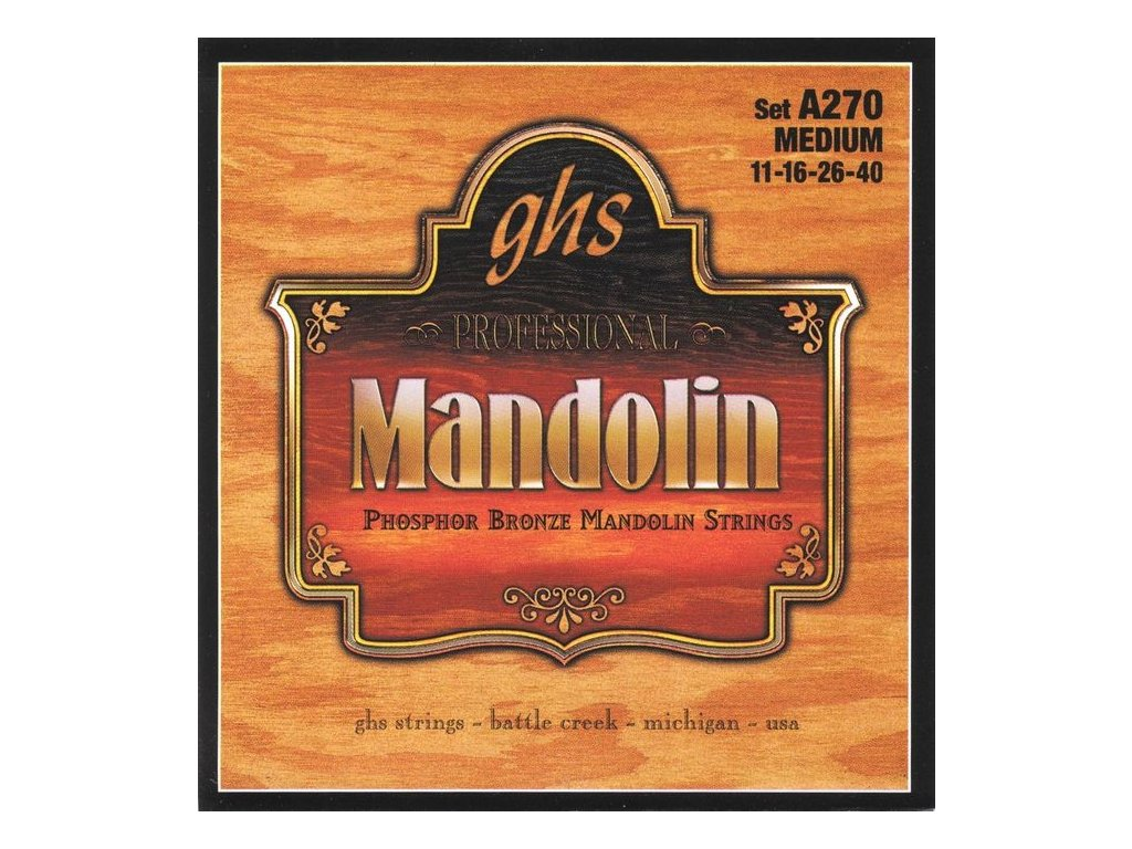 Struny na mandolínu GHS A270