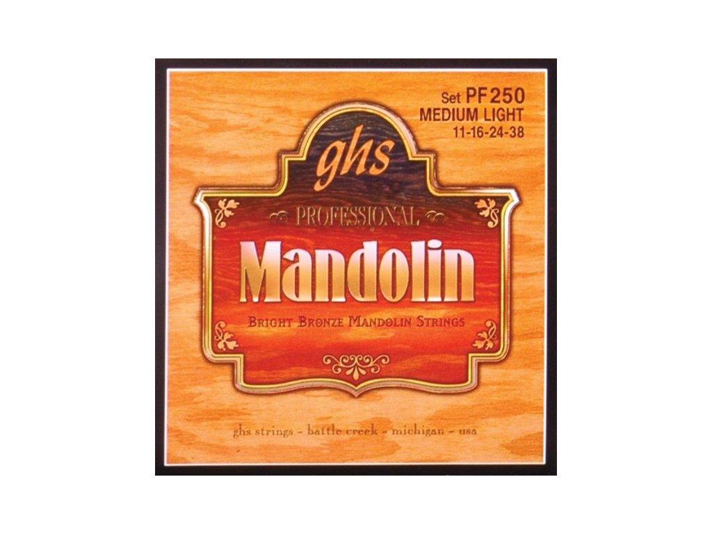 Struny na mandolínu GHS PF250
