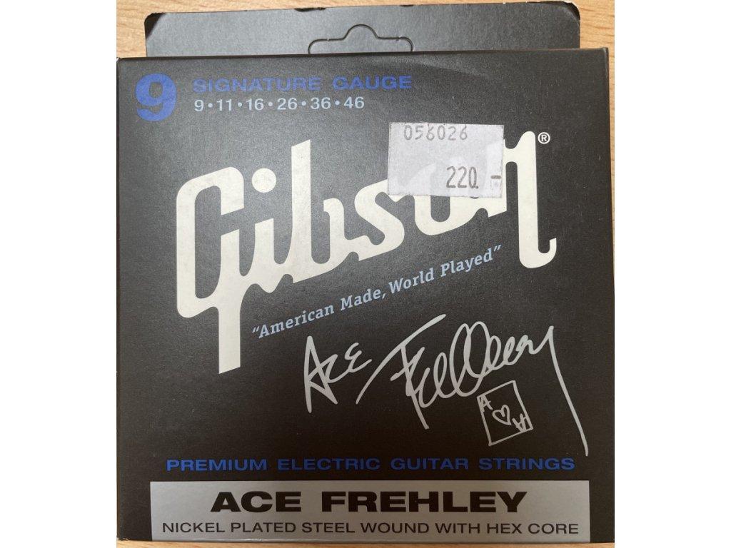 GIBSON SEG-AFS struny na el. kytaru
