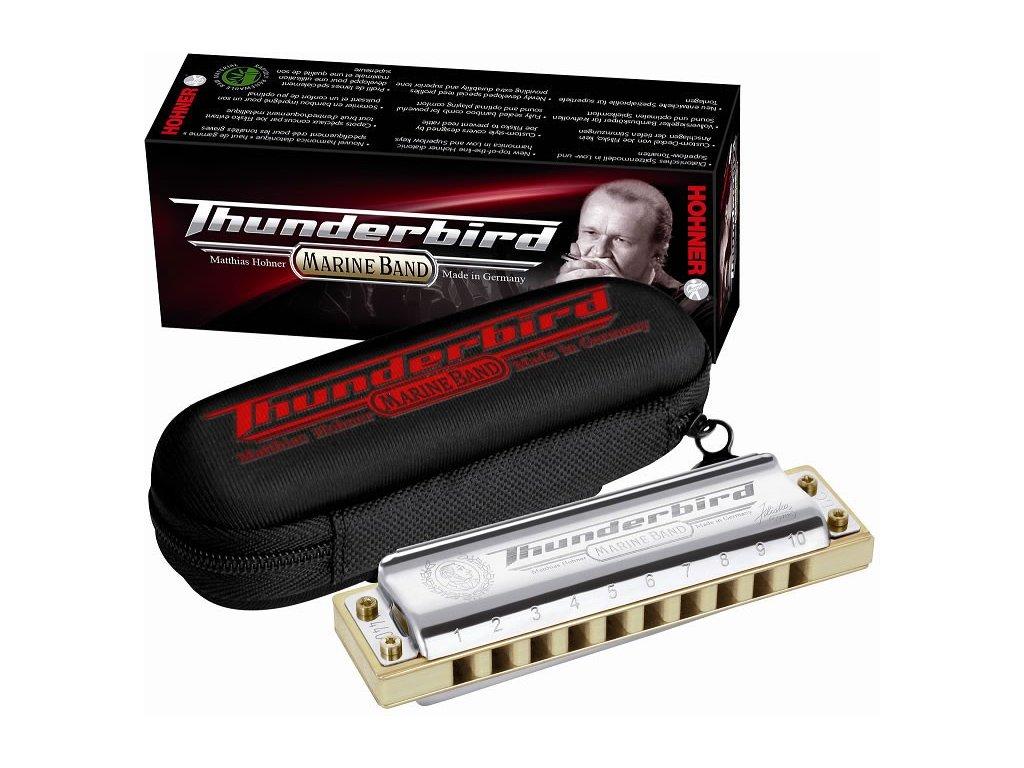 Foukací harmonika Hohner Marine Band Thunderbird E dur low