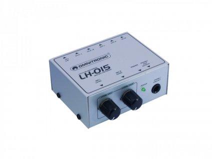 Sluchátkový zesilovač Omnitronic LH-015