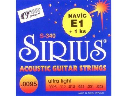Struny Sirius S-340