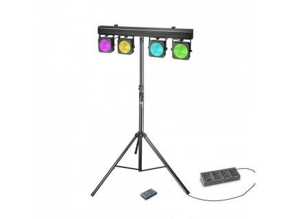 Cameo Multi Par COB1 SET - Světelná rampa