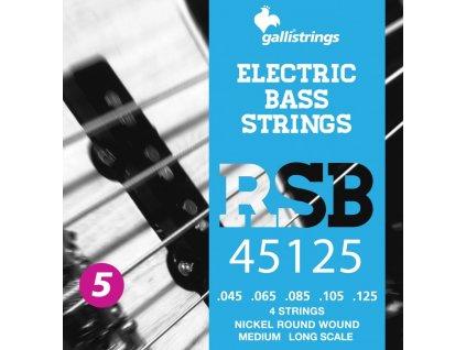 Struny na 5. strunnou basovou kytaru Galli RockStar RSB45125