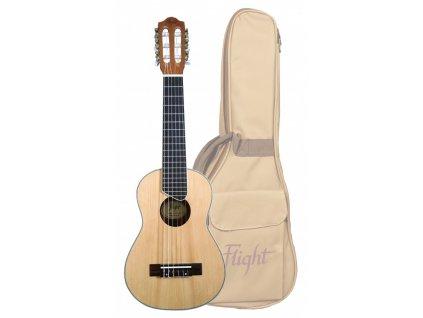 Kytarové ukulele FLIGHT GUT-350 SP/SAP Gitarlele