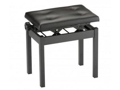 Klavírní stolička Korg PC-550 - černá