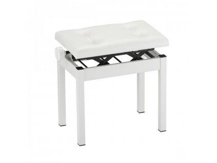 Klavírní stolička Korg PC-550 - bílá