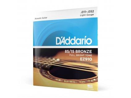 Struny na akustickou kytaru D´Addario EZ 910