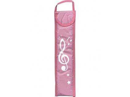 Obal pro sopránovou zobcovou flétnu Musicwear - růžový