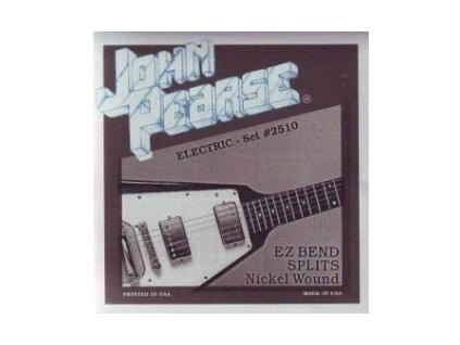 Struny na elektrickou kytaru John Pearse 2510 EZ 10-52