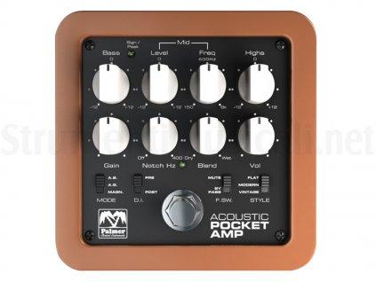 Kytarový předzesilovač PALMER Pocket Amp MK2