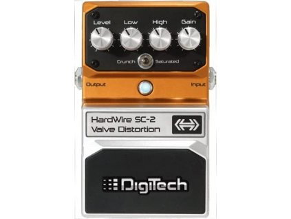 Kytarový efekt DIGITECH Valve Distortion SC-2