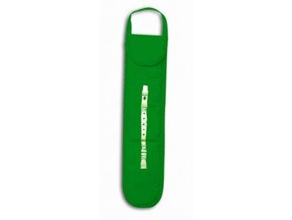 Obal pro sopránovou zobcovou flétnu Musicwear - zelený