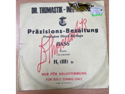 Kontrabasová struna H1  - Thomastik Prazisions