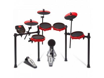 Elektronické bicí ALESIS Nitro Mesh Kit Special Edition Red